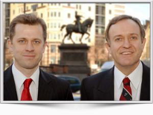 Consultant Opthalmic Surgeons James Ball and Andrew Morell