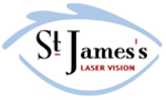 St James Laser Vision Logo
